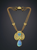 Necklace for Tiffany and Co Photographic Print by Louis Comfort Tiffany