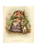 The Kenwigs Family Giclee Print by Frances Brundage