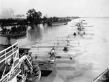 Seaplanes on the Flooded Mississippi Papier Photo