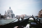 Gondolas on the Grand Canal Photographic Print by Charles Rotkin