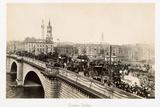 Traffic on London Bridge Photographic Print by Philip de Bay