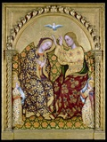 Coronation of the Virgin Photographic Print by Gentile da Fabriano