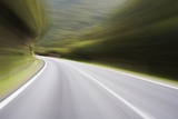 Driving on Highway Photographic Print by Paul Souders