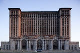 Abandoned Michigan Central Station Stampa fotografica di Paul Souders
