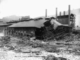 Factory Damaged in the Johnstown Flood Photographic Print