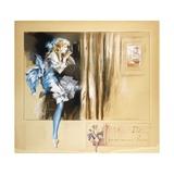 Tinsel Toes Giclee Print by Everett Shinn