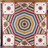 A Cotton Quilted Coverlet Photographic Print