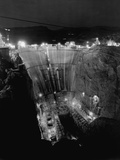 Boulder Dam under Construction Photographic Print by Gabriel Moulin