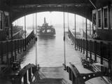 Ferry Landing in Manhattan Photographic Print