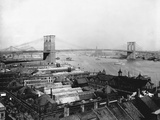 Brooklyn Bridge, New York Photographic Print