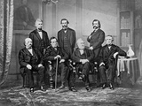 Andrew Johnson's Impeachment Committee Photographic Print