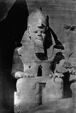Statue of Ramses II at the Temple of Ramses II Photographic Print by Francis Frith