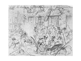 Sacking of Fredericksburg Giclee Print