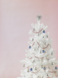 White Christmas Tree Photographic Print by Patrick Norman
