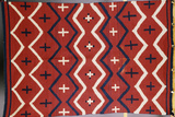 A Late Classic Navajo Wearing Blanket Photographic Print