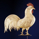 19th Century Rooster Weathervane Photographic Print