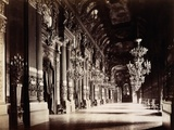 Foyer of the Opera, Paris Photographic Print by Michael Maslan