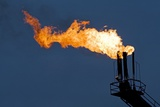 Natural Gas Flare Photographic Print by Paul Souders