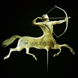 A Fine and Rare Molded and Gilt Copper Weathervane Photographic Print