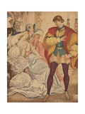 Illustration from Much Ado About Nothing by William Shakespeare Giclee Print by Willy Pogany