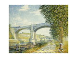 The Railway Bridge Giclee Print by Francis Picabia