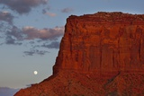 Moonrise in Monument Valley Photographic Print by Paul Souders