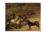 Bullfight, Suerte De Varas Giclee Print by Francisco De Goya