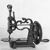 Manual Sewing Machine Photographic Print