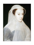 Portrait of Mary, Queen of Scots Giclee Print by Francois Clouet