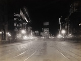 Broadway and Seventh Avenue Photographic Print