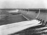 Assuan Dam on the Nile River Photographic Print