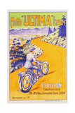 Moto 'Ultima' Lyon Poster Giclee Print