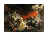The Last Day of Pompeii Giclee Print by Karl Briullov