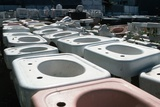 Old Sinks in Junkyard Photographic Print by Roger Ressmeyer