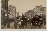 Traffic in Regents Circus Photographic Print by Philip de Bay