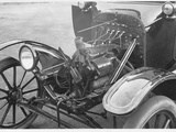 "Genemotor Equipment for Model ""T"" Ford Cars Photographic Print"