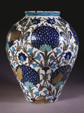 A Glazed Earthenware 'Persian' Vase Photographic Print by William De Morgan