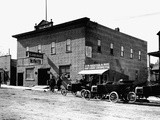 Ford Dealership, Minot, North Dakota Photographic Print