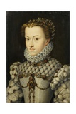 Elisabeth of Austria, Queen of France Giclee Print by Fran‡ois Clouet