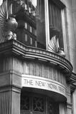 Facade of New York Trust Co Photographic Print