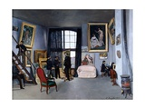 Bazille's Studio Giclee Print by Fr'd'ric Bazille