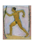 The Wayfarer (The Wanderer) Giclee Print by Koloman Moser