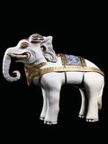 A Rare and Important Kakiemon Model of an Elephant Photographic Print
