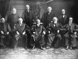 Portrait of the 1888 Supreme Court Photographic Print by C.M. Bell