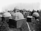 Harvard Observatory Complex Photographic Print by Charles H. Thurston