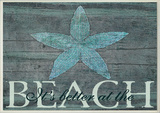 It's Better at the Beach Starfish Wall Plaque Wood Sign