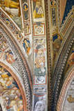 Italy, Siena, Siena Cathedral, Baptistery Apse, Fresco, Interior Photographic Print by Samuel Magal