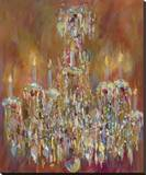 All That Glitters (No. 2) Stretched Canvas Print by Amy Dixon