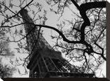Eiffel III Opspændt lærredstryk af Tom Artin