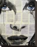 In the Days Stretched Canvas Print by Loui Jover